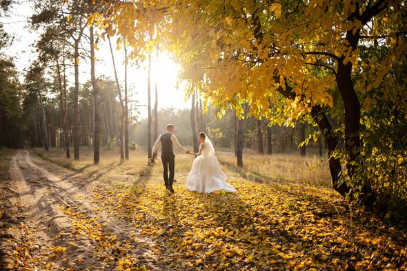 Свадебная прогулка Лизы и Андрея - фото №31