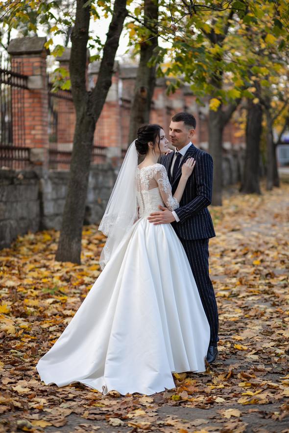 Свадебная прогулка Лизы и Андрея - фото №13