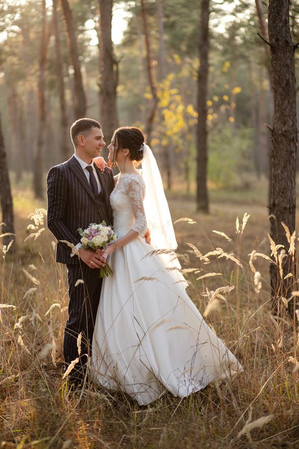 Свадебная прогулка Лизы и Андрея - фото №29
