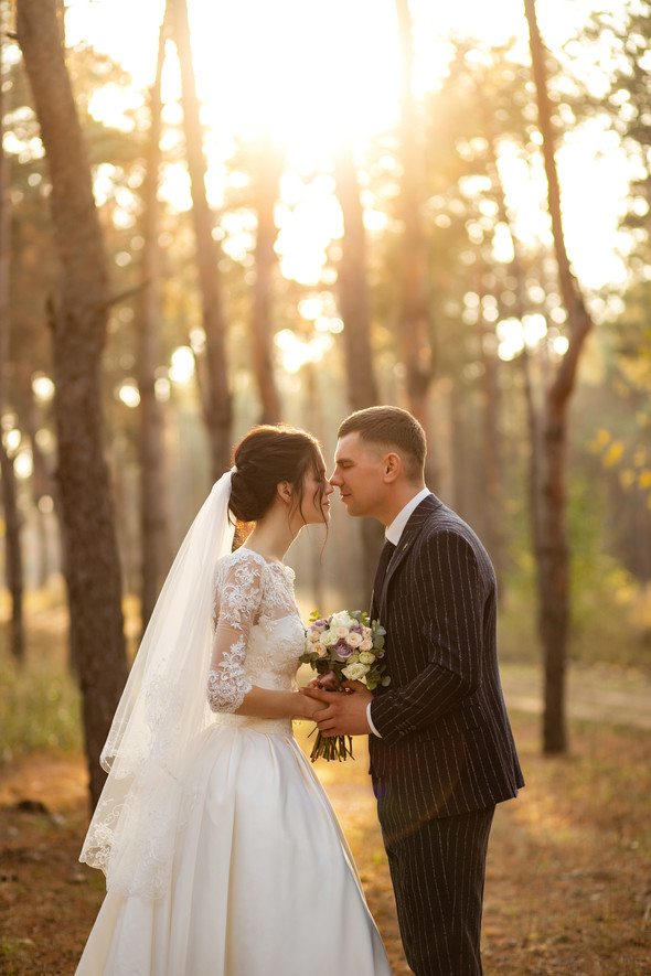 Свадебная прогулка Лизы и Андрея - фото №24