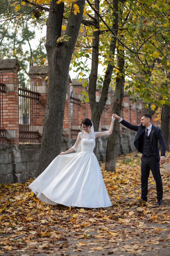 Свадебная прогулка Лизы и Андрея - фото №14
