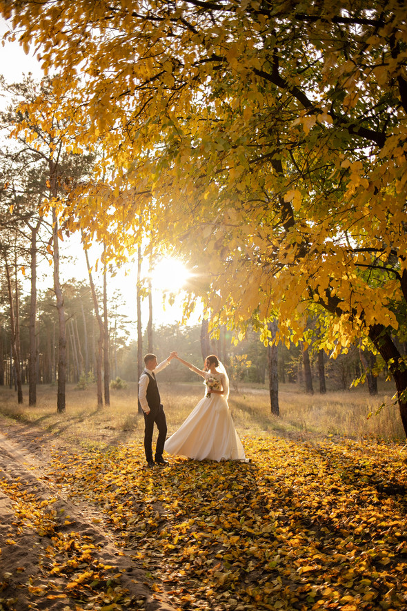 Свадебная прогулка Лизы и Андрея - фото №34