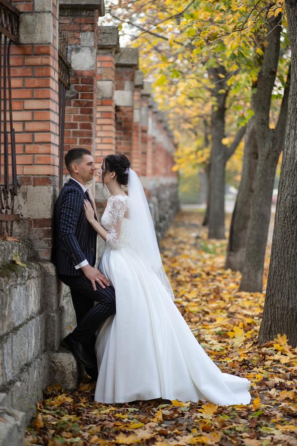 Свадебная прогулка Лизы и Андрея - фото №17