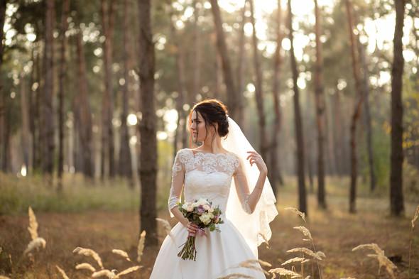 Свадебная прогулка Лизы и Андрея - фото №20