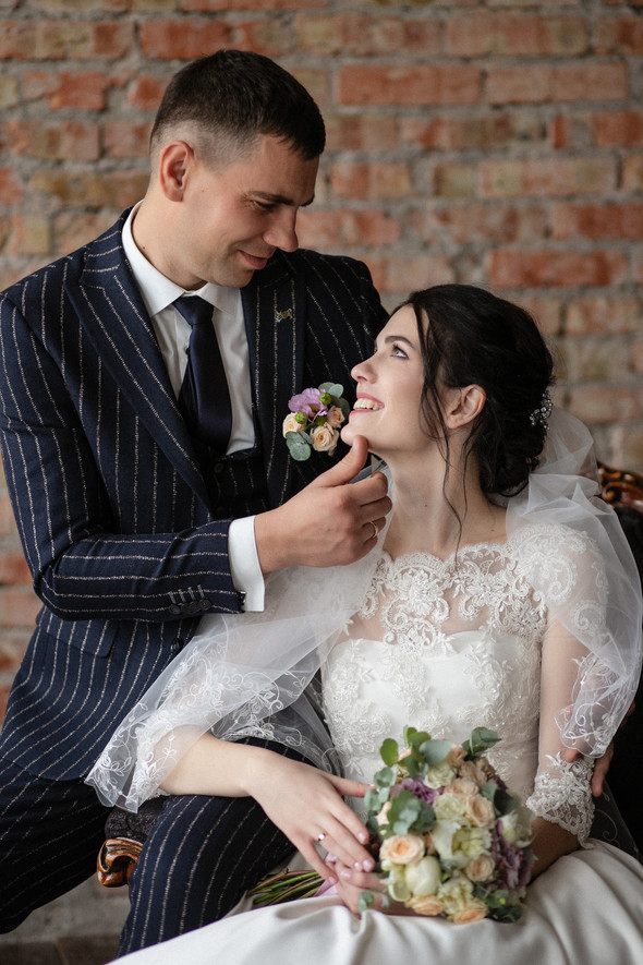 Свадебная прогулка Лизы и Андрея - фото №3