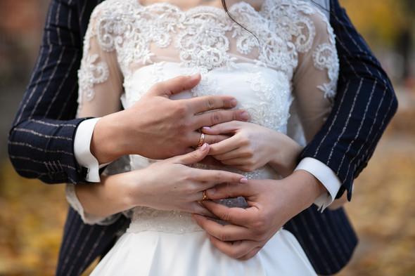Свадебная прогулка Лизы и Андрея - фото №15