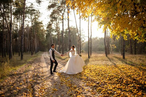 Свадебная прогулка Лизы и Андрея - фото №32