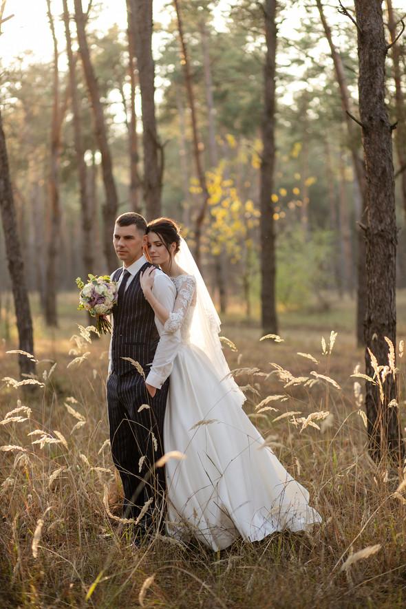 Свадебная прогулка Лизы и Андрея - фото №30