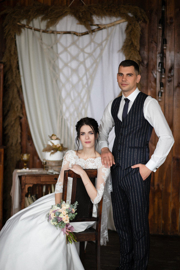 Свадебная прогулка Лизы и Андрея - фото №9