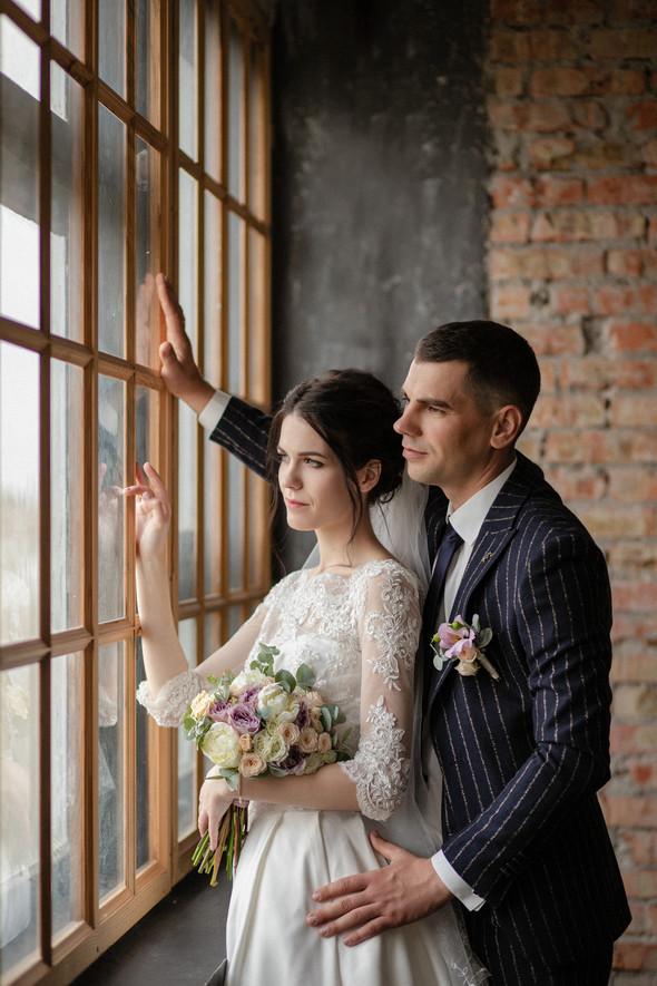 Свадебная прогулка Лизы и Андрея - фото №1