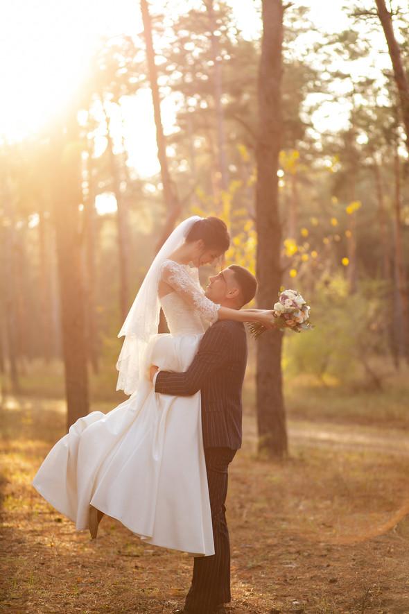 Свадебная прогулка Лизы и Андрея - фото №27