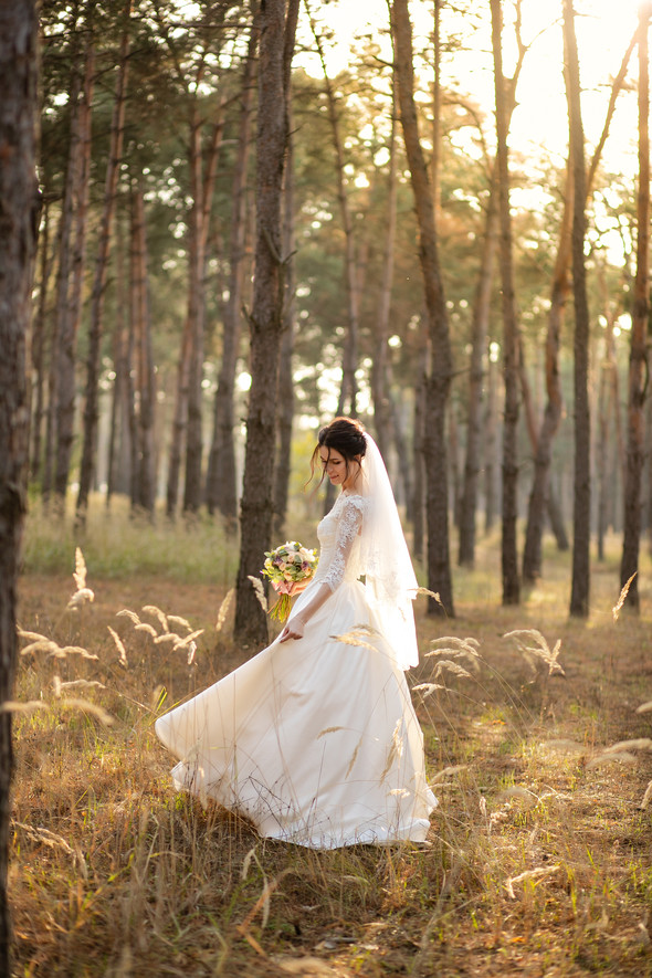 Свадебная прогулка Лизы и Андрея - фото №21