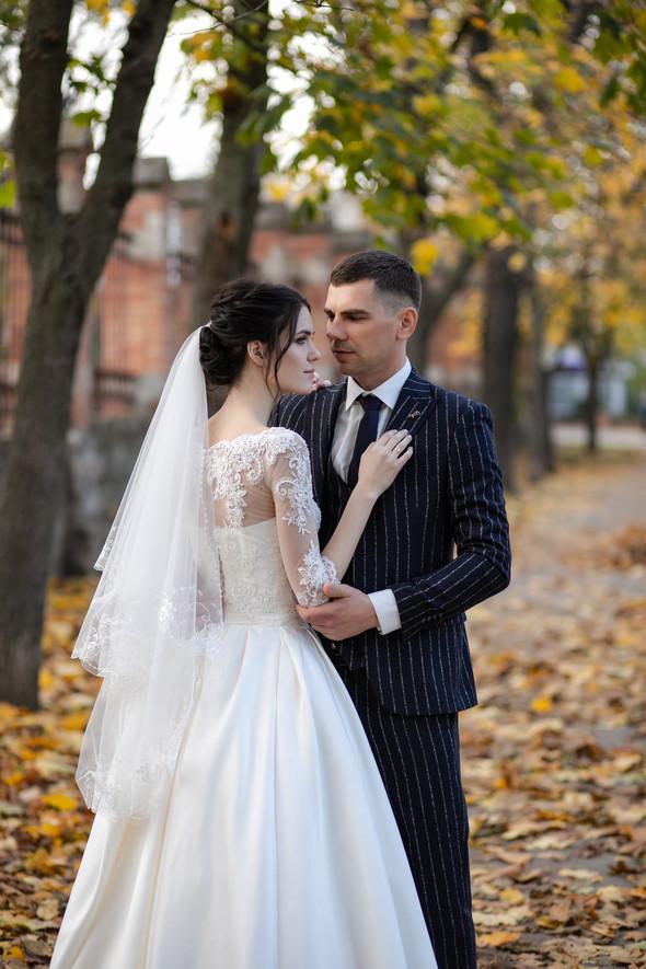 Свадебная прогулка Лизы и Андрея - фото №12