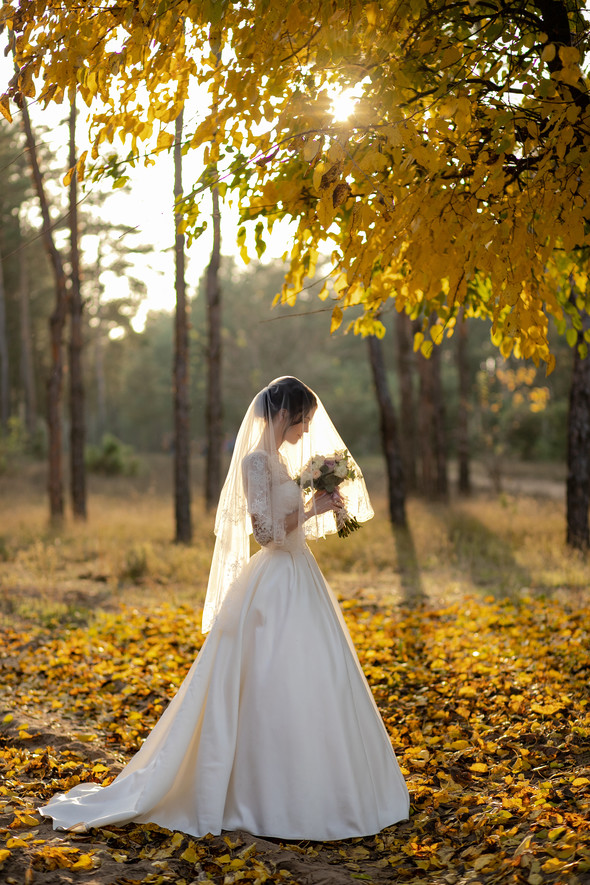 Свадебная прогулка Лизы и Андрея - фото №35