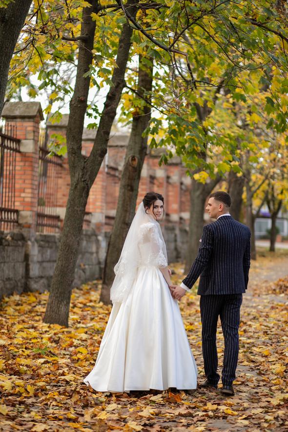 Свадебная прогулка Лизы и Андрея - фото №11