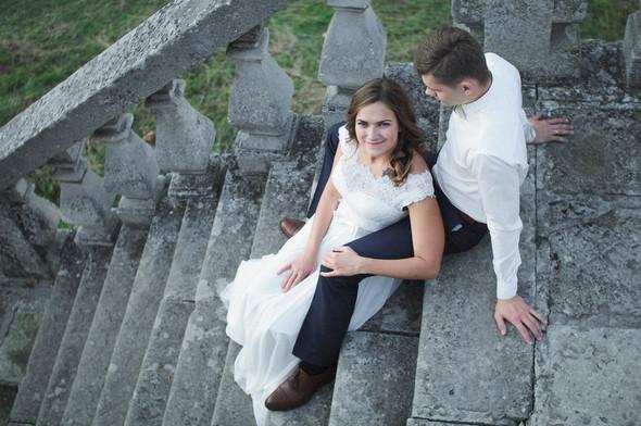 Післявесільна зйомка Ореста і Оленки на ПІдгорецькому замку - фото №14