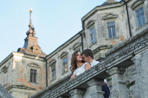 Післявесільна зйомка Ореста і Оленки на ПІдгорецькому замку - фото №17