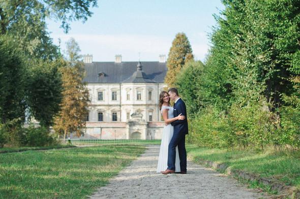 Післявесільна зйомка Ореста і Оленки на ПІдгорецькому замку - фото №2