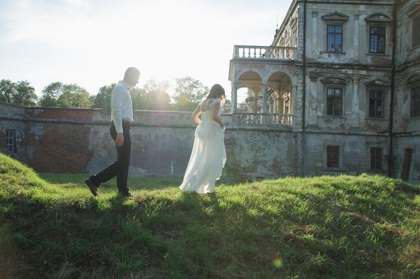 Післявесільна зйомка Ореста і Оленки на ПІдгорецькому замку - фото №9