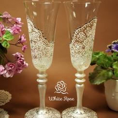 White Rose - свадебные аксессуары в Киеве - фото 1