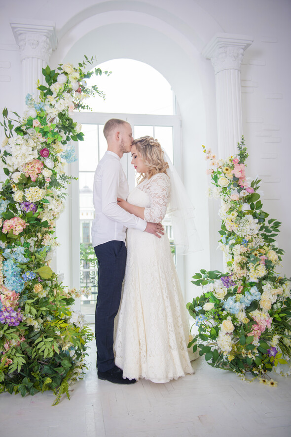 Свадьба, студия - фото №9