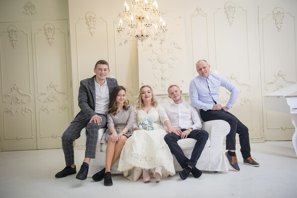 Свадьба, студия - фото №5
