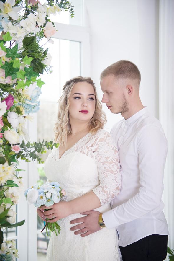 Свадьба, студия - фото №1
