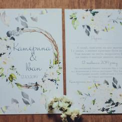 Вероніка Шпак - пригласительные на свадьбу в Львове - фото 3