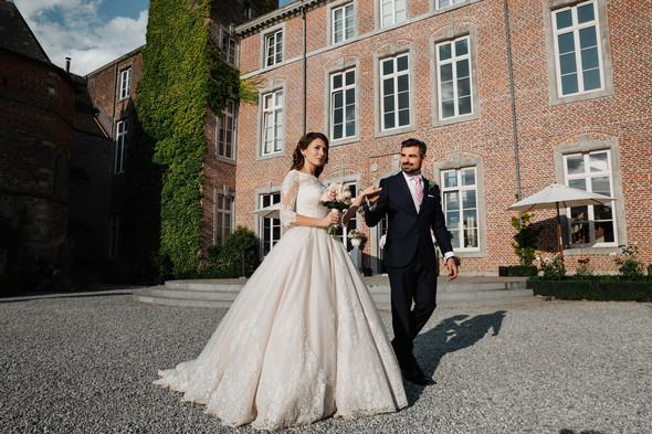 Классическая свадьба в замке. Брюссель, Бельгия - фото №12