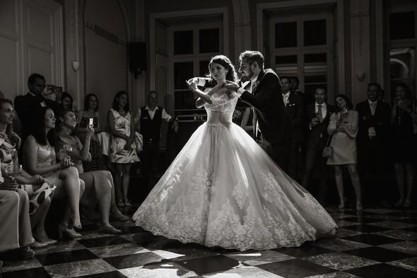 Классическая свадьба в замке. Брюссель, Бельгия - фото №69