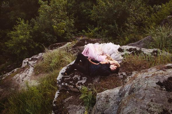 Романтическая фотосессия в каньоне - фото №22