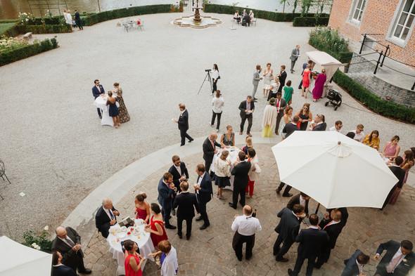 Классическая свадьба в замке. Брюссель, Бельгия - фото №38