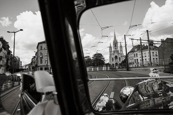 Классическая свадьба в замке. Брюссель, Бельгия - фото №17