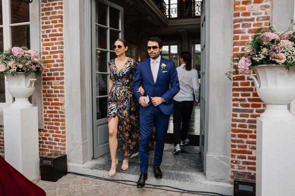 Классическая свадьба в замке. Брюссель, Бельгия - фото №36