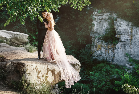 Романтическая фотосессия в каньоне - фото №3