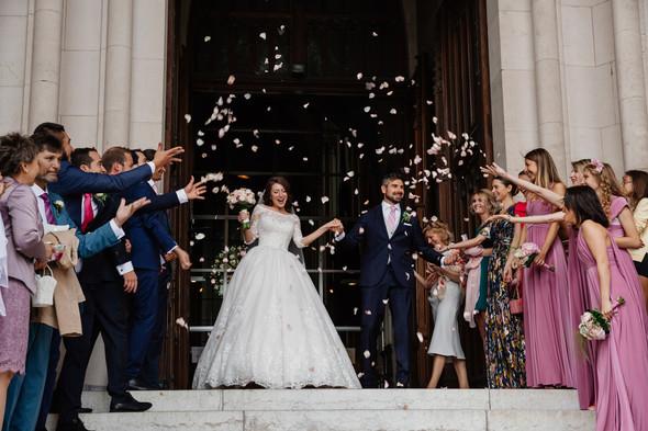 Классическая свадьба в замке. Брюссель, Бельгия - фото №29