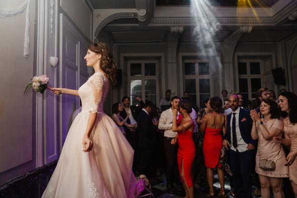 Классическая свадьба в замке. Брюссель, Бельгия - фото №77