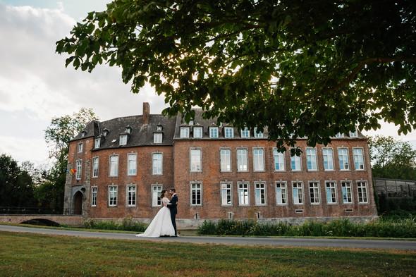 Классическая свадьба в замке. Брюссель, Бельгия - фото №15