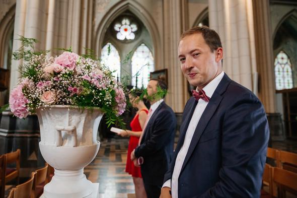 Классическая свадьба в замке. Брюссель, Бельгия - фото №28