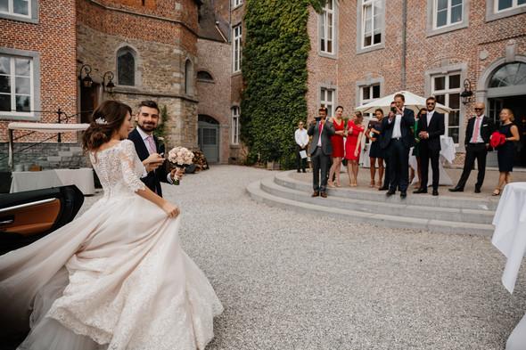 Классическая свадьба в замке. Брюссель, Бельгия - фото №33
