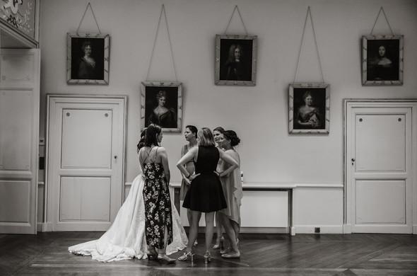 Классическая свадьба в замке. Брюссель, Бельгия - фото №61