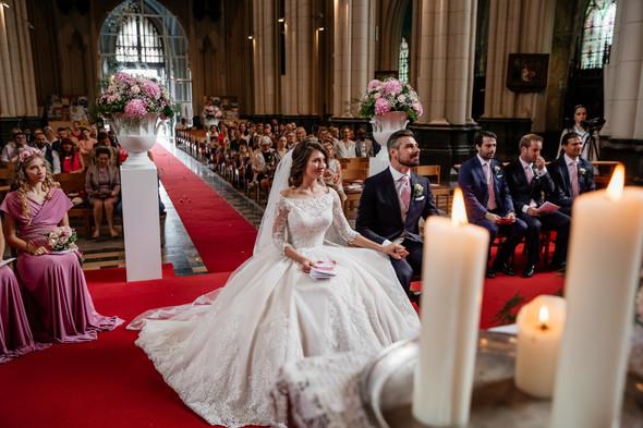 Классическая свадьба в замке. Брюссель, Бельгия - фото №21