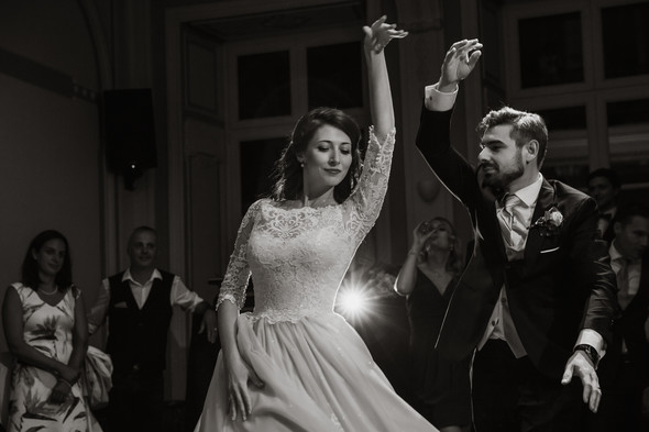 Классическая свадьба в замке. Брюссель, Бельгия - фото №70