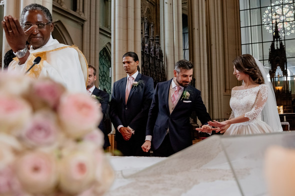 Классическая свадьба в замке. Брюссель, Бельгия - фото №27