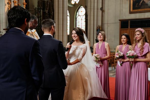 Классическая свадьба в замке. Брюссель, Бельгия - фото №24