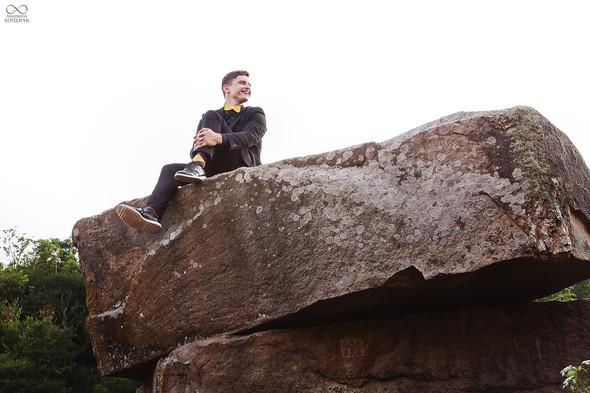 Романтическая фотосессия в каньоне - фото №15