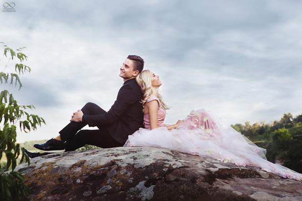 Романтическая фотосессия в каньоне - фото №12