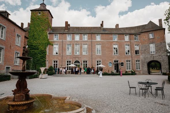 Классическая свадьба в замке. Брюссель, Бельгия - фото №34