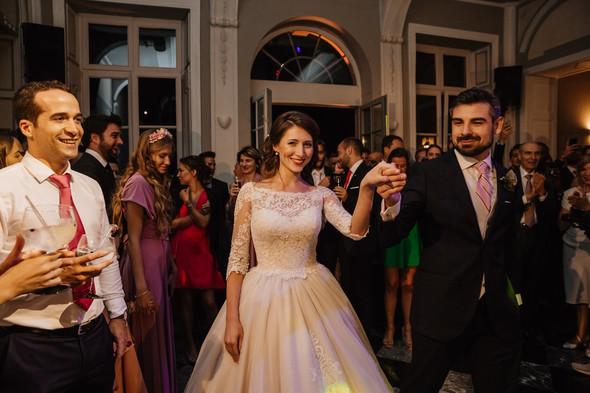 Классическая свадьба в замке. Брюссель, Бельгия - фото №67