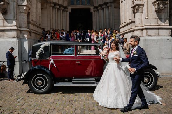 Классическая свадьба в замке. Брюссель, Бельгия - фото №30